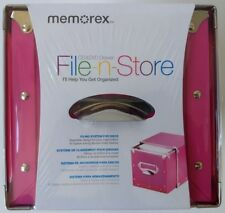 Memorex 80 Disc CD/DVD Storage Drawer Pink **Warehouse Pickup Only**
