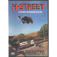 H-Street - Shackle Me Not DVD - New & Sealed Classic Old School Skateboard Video