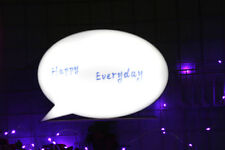 A6 Q6 Mini  Cinematic Lightbox Speech Bubble Led Handwriting Cinema Light Box