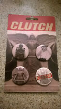 Clutch Psychic Warfare pins 4, fromtour official merch
