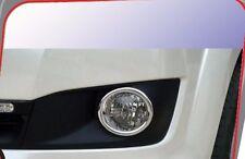 PAIR TOYOTA FORTUNER 2011-13 CHROME FOG LIGHT SPOT LAMP COVER TRIM CIRCULAR