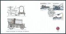 Namibia - FDC Vom Ochsenwagen zum Flugzeug 2018 Mi. 1580-1582
