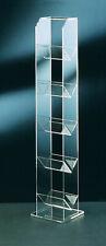 CD - Ständer - aus Acrylglas - klar - transparent - für 75 CDs
