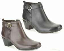 Clarks Zip Block Boots for Women