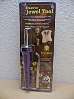 Walnut Hollow Creative Jewel Tool Tweezer 3 Point Stand Crafting Iron Arts Craft