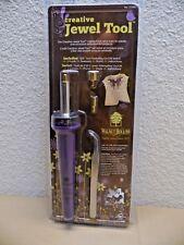 Walnut Hollow Creative Jewel Tool Tweezer 3 Point Stand Crafting Iron Arts Craft