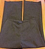 Ann Taylor Womens Size 10 Pants Dress Career Trousers Side Zipper Gray B47