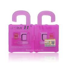 1x R-SIM11 General Nano Cloud Unlock Card iOS7-iOS10 für iPhone 5/5S/6/6S/7/7S