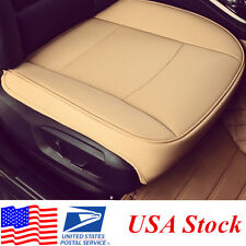 1pcs Beige Car Seat Protector Pad /Cover 53cm * 54cm  PU leather (USA Stocking )
