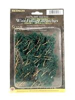 Bachman Foliage Branches 32646 Dark Green Scale Model RR Railroad Scenery Mini