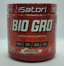 Isatori BIO-GRO Protein Muscle Strength & Recovery Vanilla Ice Cream 60 Servings