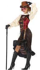 Déguisement Femme STEAMPUNK Marron XL 44 Costume Adulte Victorien NEUF