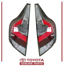 Genuine Toyota Prius C 2018-2019 Right and Left Rear Tail Light Set OEM OE