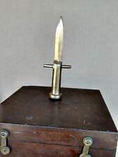 BRASS KNIFE TOOL MADE BY A NAVY SEAL