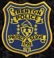 Trenton New Jersey Police Shoulder Patch