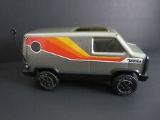 "VINTAGE 1970's USED 8.5"" TONKA VAN  PRESSED STEEL"