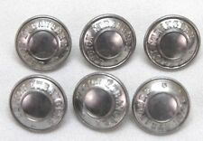 French Foreign Legion silver colored Button 1in 25mm 40L set of 6 B1957