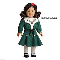 NEW American Girl Ruthie's Holiday Dress NIB Christmas Doll & Shoes Not Included