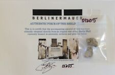 Authentic Piece of the BERLIN WALL Relic Slab 1989 Germany Reagan Gorbachev QTY!