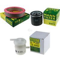 MANN-FILTER PAKET Luftfilter Ölfilter Suzuki Alto SS80 0.8 9684690