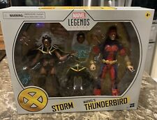 "MARVEL LEGENDS X-MEN STORM AND THUNDERBIRD 2-PACK 6"" FIGURE EXCLUSIVE"