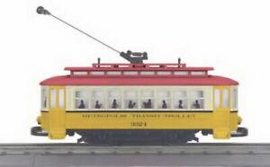 MTH 30-2546 Metropolis Bump-n-Go Trolley LN/Box