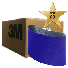 3M Regalite Resin Bond Cloth Belt 04147, 7.875 in x 29.5 in 80Y Grit 10 PACK