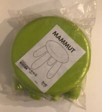 IKEA MAMMUT DISCONTINUED CHILD/KIDS LIME GREEN STOOL #16962-NEW SEALED