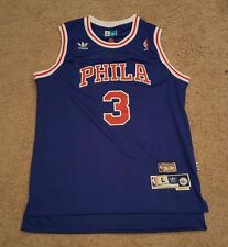 Allen Iverson Philadelphia Sixers 76ers Throwback Jersey Large