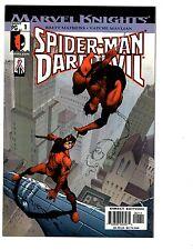 3 Spider-Man Marvel Comics Daredevil #1 Marvel Knights #22 Final Adv. #4 Bh38