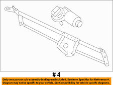 FORD OEM Wiper-Front Transmission 9L1Z17500A