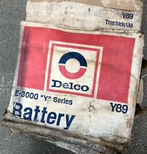 1970-72 CHEVELLE 442 GTO CORVETTE DELCO BATTERY SIDE POST NEW IN BOX E-3000 Y89