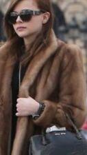 $8995 Natural Long Hair Mink Fur Coat Fur Origin USA Size L