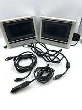 Rear Dual Car Screen Mobile Video Portable DVD Player AV Outputs Auto