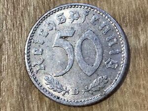 50 Reichspfennig Drittes Reich 1939 -1944 J.372