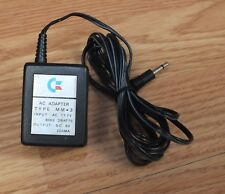 Genuine Oem Commodore Mm*3 Ac Adapter Power Supply 6V 3W 60Hz Only *Read*