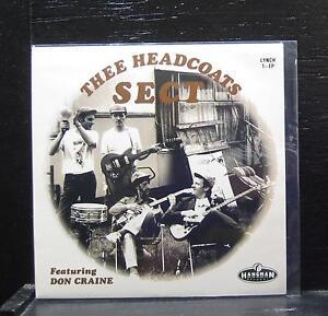 """Thee Headcoats Sect -Headcoats On EP Mint- 7"""" Vinyl 45 Hangman LYNCH.1EP"""