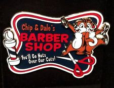 Disney  DLR - Chip and Dale - Barber Shop 2004  LE HTF NOC Pin