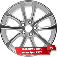New 18 Machined Silver Alloy Wheel Rim For 2013 2014 2015 Toyota Avalon Fits Toyota