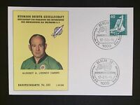 BERLIN MK 1975 WELTRAUM SPACE SHUTTLE MAXIMUMKARTE MAXIMUM CARD MC CM c9364