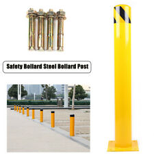 """New listing Steel Safety Bollard Parking Post 24""""H 4.5""""D Protect Equipment Vehicle Forklift"""