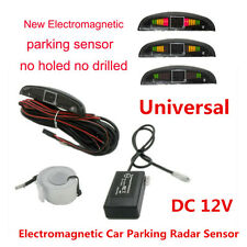 Electromagnetic 12V Car Truck Reverse Parking Backup Radar Sensor With LED Alarm