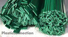 Soldadura de plástico barras mix ABS,PP,HDPE 100 piezas,verde ,moto,fairing