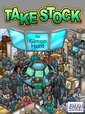 CLASSIC: Take Stock card Game By Simon Hunt Zman games - 100% Complete!!