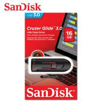 SanDisk USB 16Go Cruzer Glide Clé USB 3.0 Lecteurs USB Flash Memoire Drive CZ600