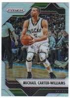 2016-17 Panini Prizm Basketball Silver Prizm #19 Michael Carter-Williams Bucks