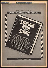 Stephen King__THE STAND__Orig. 1983 Trade AD_poster__FRANKENSTEIN__George Romero