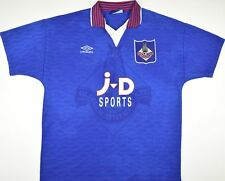 1995-1996 OLDHAM ATHLETIC UMBRO HOME FOOTBALL SHIRT (SIZE L)