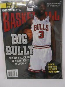 Beckett Basketball November 2006 Issue #196 BEN WALLACE Cover