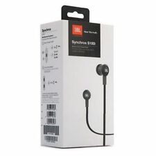 JBL Headphone Synchros s100i/200i in-ear stereo headphone with mic free pouch